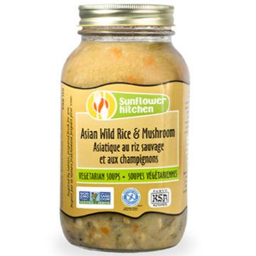 Sunflower Kitchen, Asian Wild Rice & Mushroom Soup (956mL)