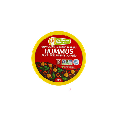 Sunflower Kitchen, Spicy Hummus (227g)