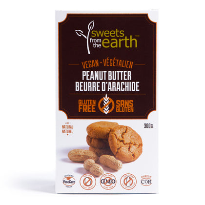 Sweets from the Earth, Vegan/Gluten Free Peanut Butter Cookies (300g)