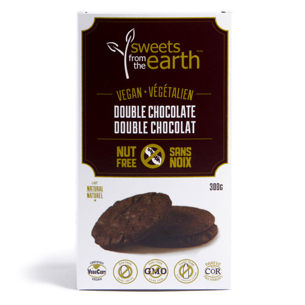 Sweets from the Earth, Vegan/Nut Free Double Chocolate Cookies (300g)