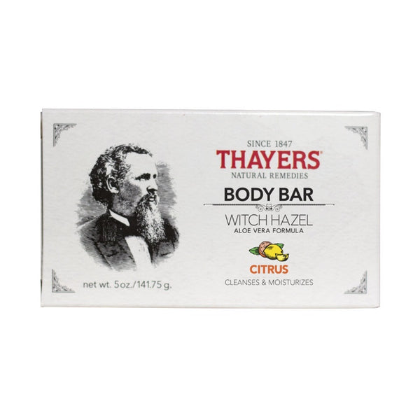 Thayers', Citrus Body Soap Bar (141.75g)