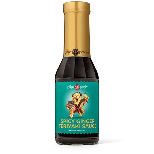 The Ginger People, Spicy Ginger Teriyaki Sauce (375mL)