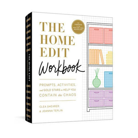 The Home Edit Workbook by C. Shearer & J. Teplin (PB, pp. 144)