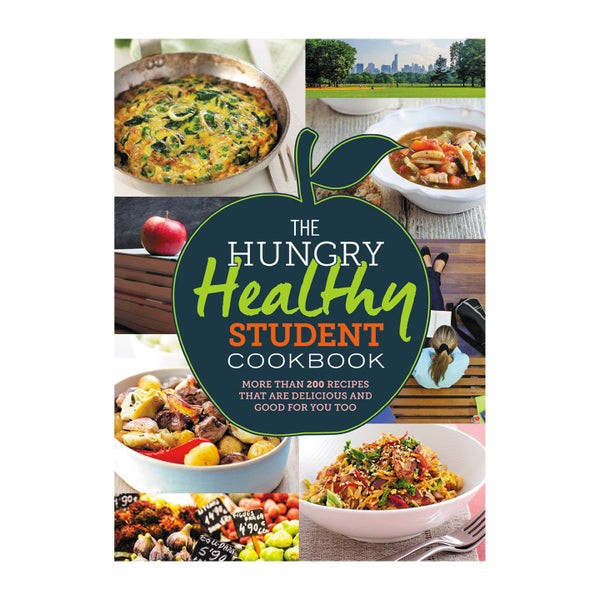 The Hungry Healthy Student Cookbook (Softcover, 256 Pages)
