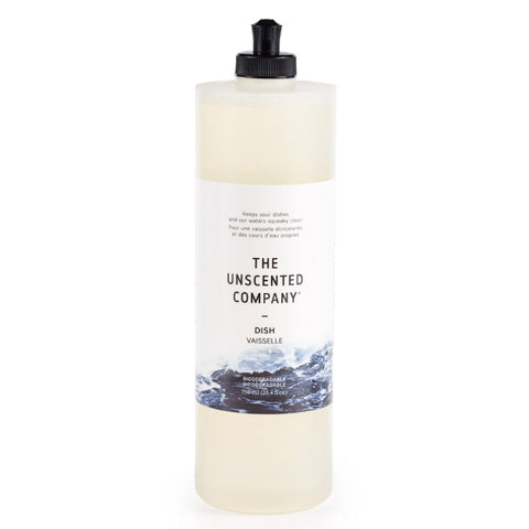 The Unscented Company, Dish Soap (750mL)