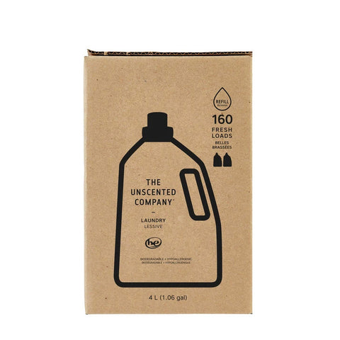 The Unscented Company, Laundry Liquid Detergent - 4L Box