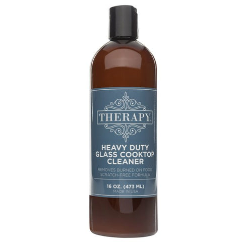 Therapy, Heavy Duty Glass Cooktop Cleaner (473mL)