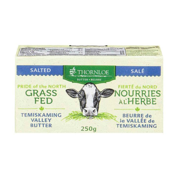 Thornloe, Grass Fed Salted Butter (250g)