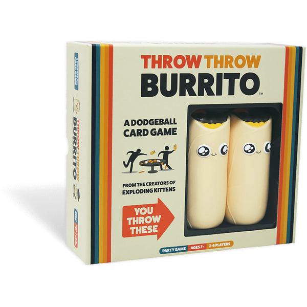 Throw Throw Burrito - A Dodgeball Card Game