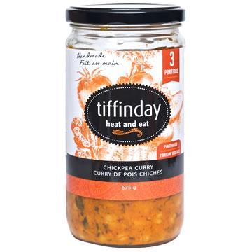 Tiffinday, Heat & Serve Chickpea Curry (675g)