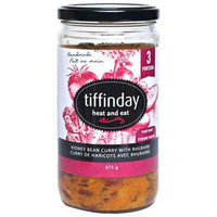 Tiffinday, Kidney Bean Curry with Rhubarb (675g)