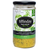 Tiffinday, Lentil Spinach Curry (675g)