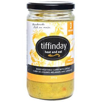 Tiffinday, Mixed Vegetable Curry with Lentils (675g)
