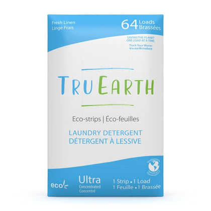 TruEarth, Fresh Linen Laundry Detergent Eco Strips (64 Loads)