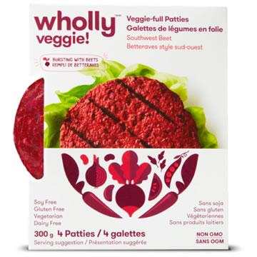 Wholly Veggie! Southwest Beet Veggie-full Patties (300g)