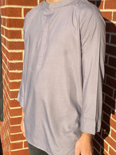 Load image into Gallery viewer, Fez Tunic in Grey