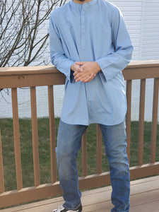Fez Tunic in Light Blue
