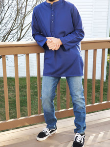 Fez Tunic in Royal Blue