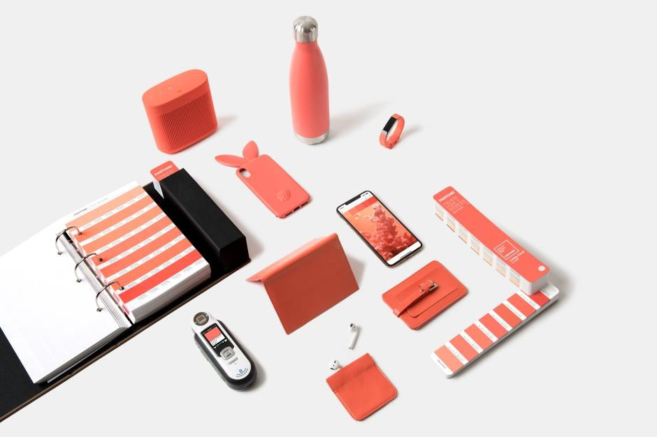 Colour of the Year 2019 Light Coral Product Set
