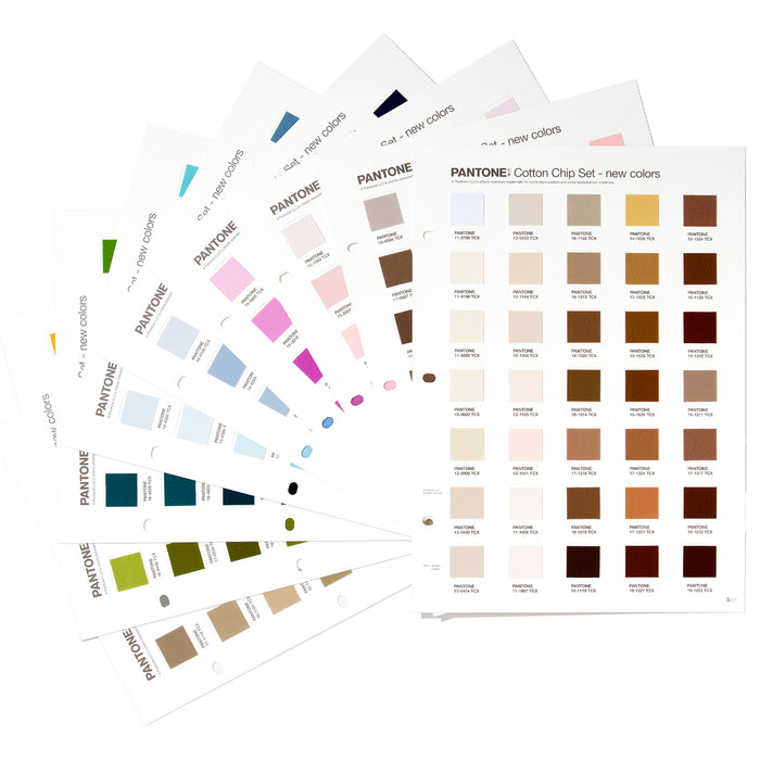 PANTONE FHI Cotton Chip Set Supplement