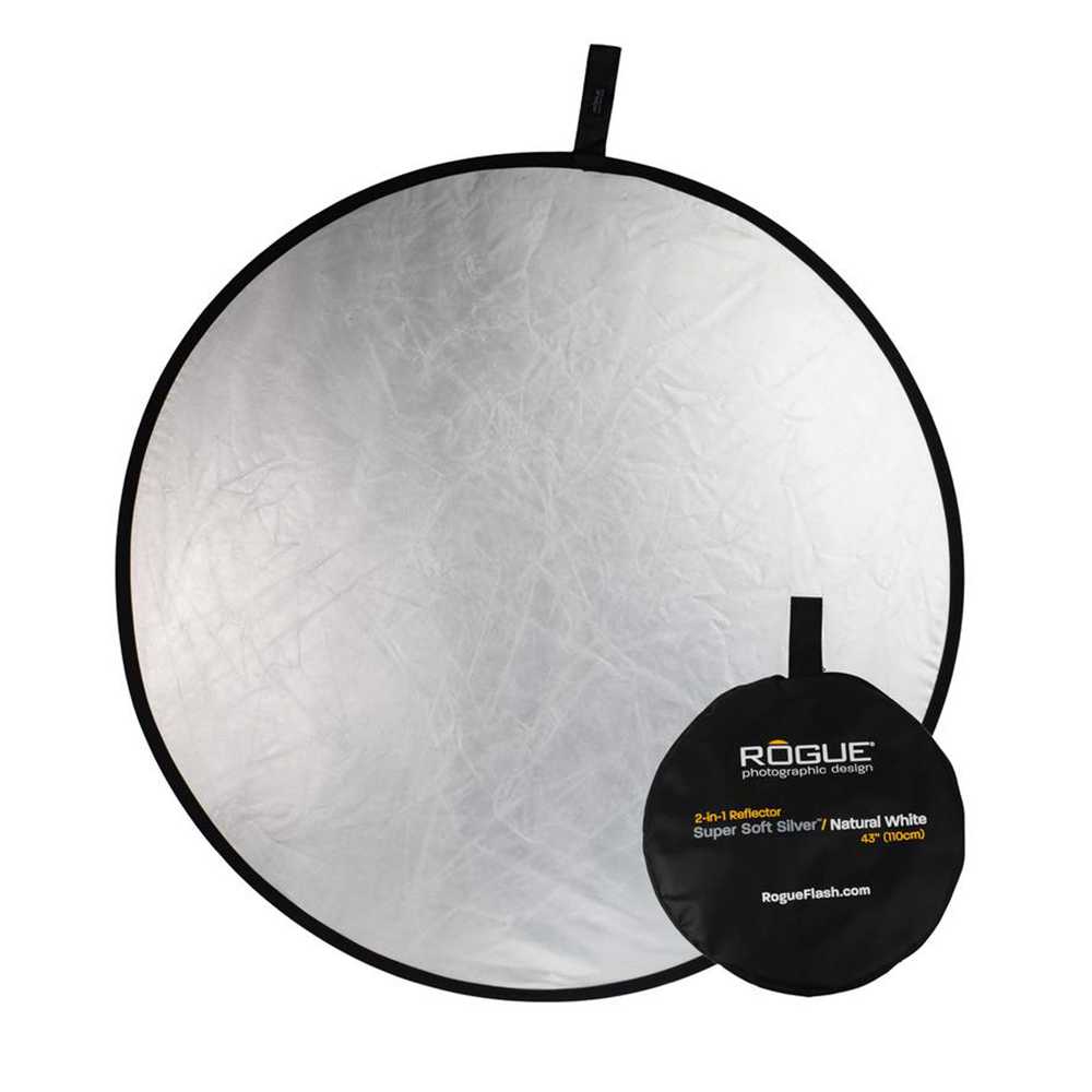 Rogue 2-in-1 Reflector Silver/White 43""