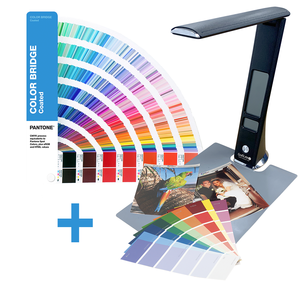 PANTONE Color Bridge Guide Coated mit einer GrafiLite-2