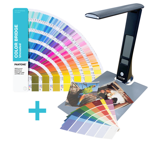 PANTONE Color Bridge Guide Uncoated mit einer GrafiLite-2