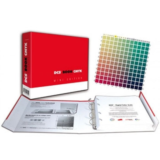 DCS Book CMYK Mini Set - coated und uncoated