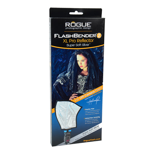 FlashBender XL Pro Reflektor Super Soft Silver