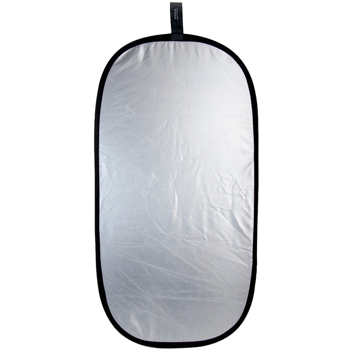 Rogue 2-in-1 Reflector Silver/White 20x40 inch