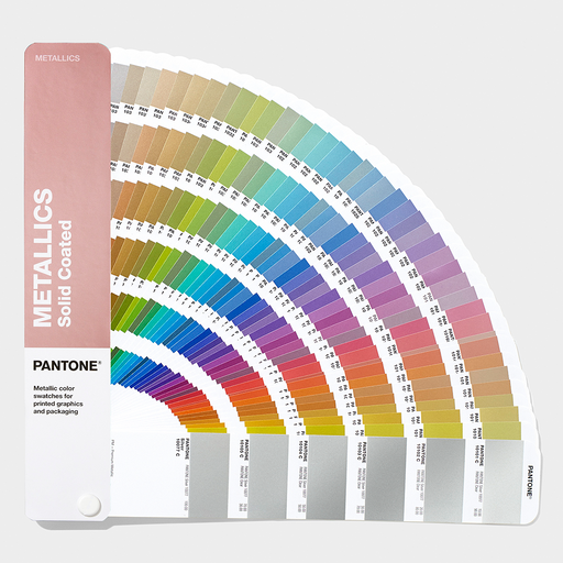Neu in 2019 PANTONE Metallics Coated - Guide