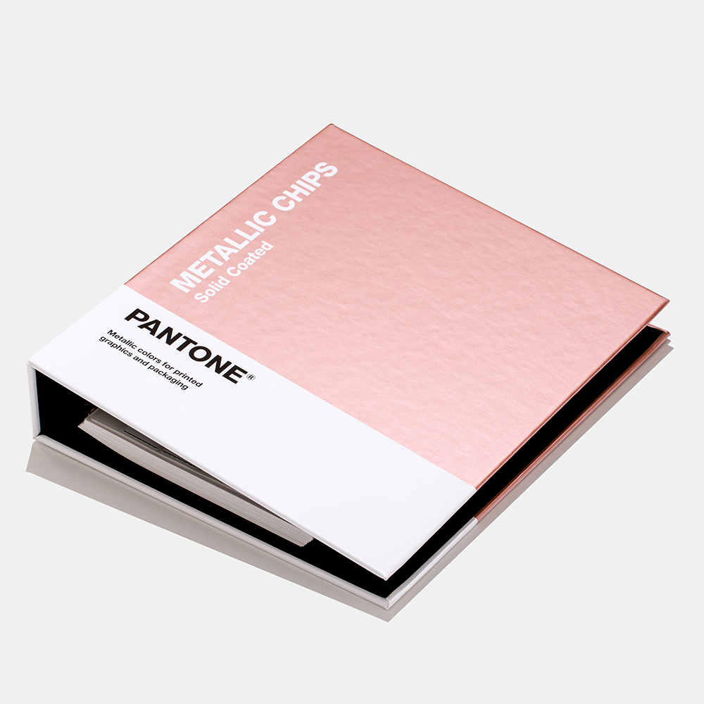 Neu in 2019 PANTONE Metallics Coated - Chip Book