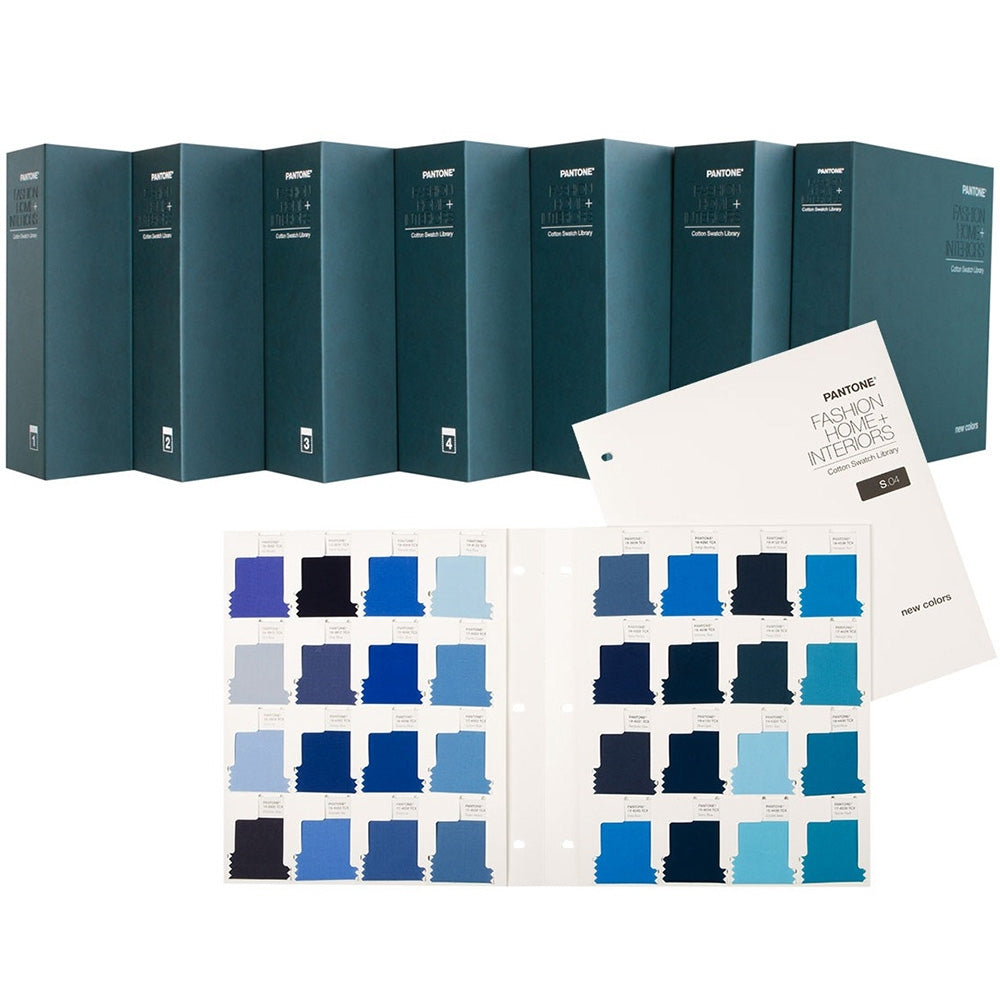 PANTONE FHI Cotton Swatch Library