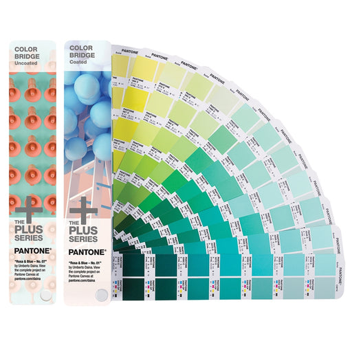 PANTONE PLUS Color Bridge Set Coated & Uncoated