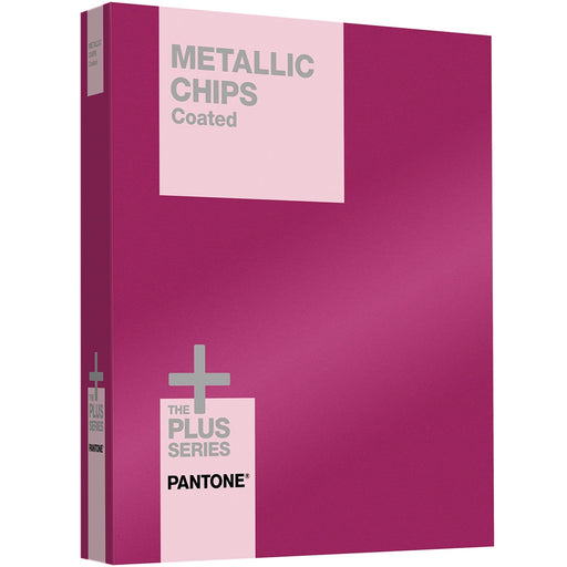 PANTONE PLUS Metallic Chips Coated