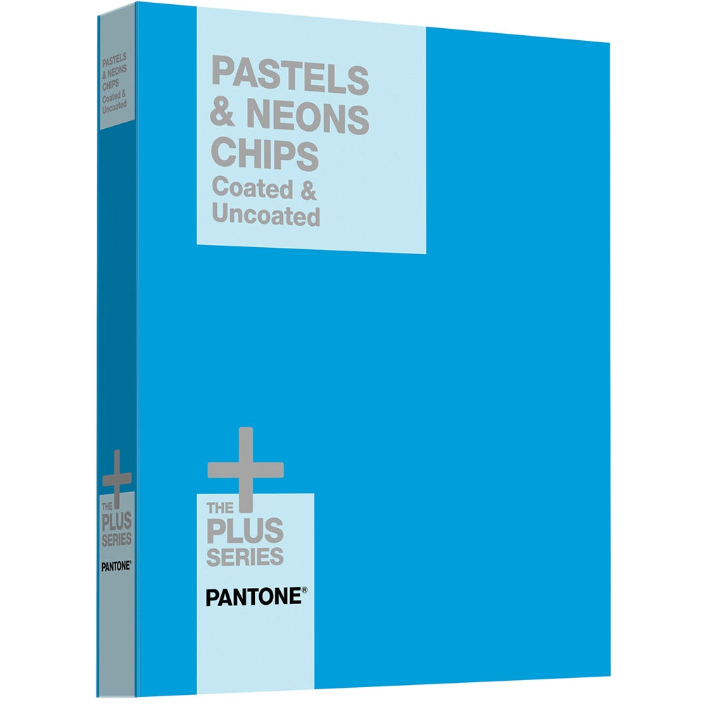 PANTONE PLUS Pastels & Neons Chips Coated & Uncoated - 2015 Cover Ausverkauf