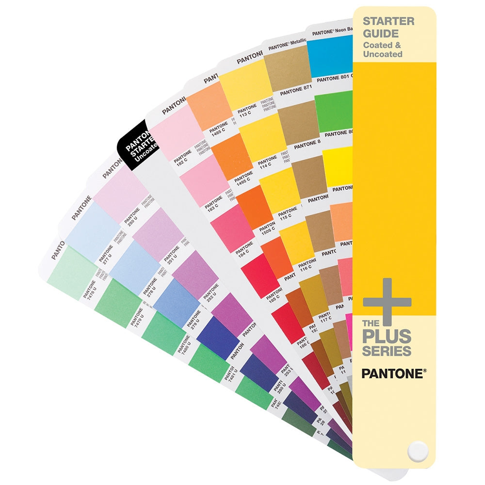 PANTONE PLUS Starter Guide Coated & Uncoated