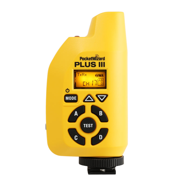 PocketWizard Plus III Transceiver - Yellow