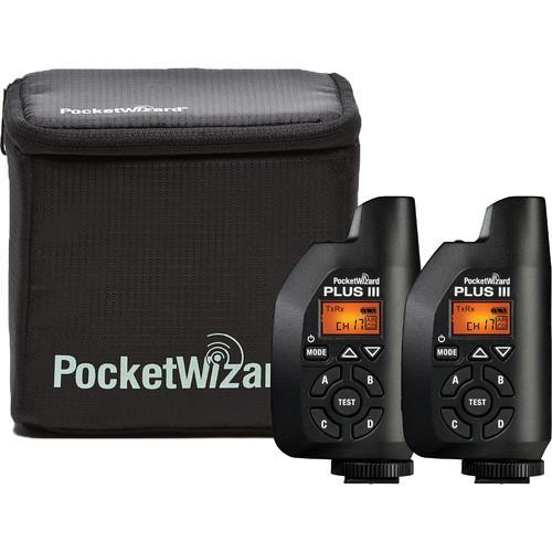 PocketWizard Plus IIIe Transceiver Bonus Bundle