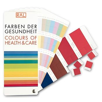 RAL Colours of Health & Care – Farbfächer und Chip Buch Set