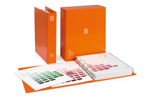 RAL D3 Colour Toolbook Ringordner