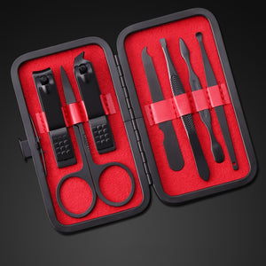 Gothic Portable Manicure Nail Clipper Pedicure Set