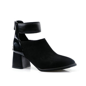 Booth-Style High-Heel Shoes