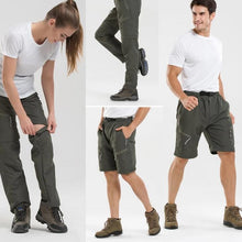 Load image into Gallery viewer, Unisex Detachable Outdoor Trekking Shorts-Trousers