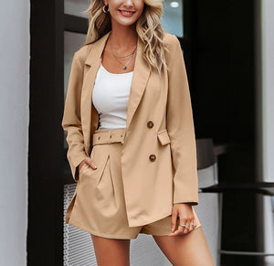 Boss Chic™ - Elegant Casual Two-Piece Blazer Set