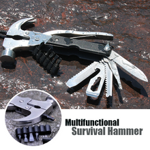 Load image into Gallery viewer, Multifunctional Survival Hammer