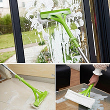 Load image into Gallery viewer, Foldable Telescopic Window Mop
