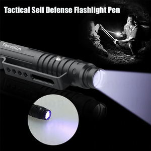 Tactical Self Defense Flashlight Pen