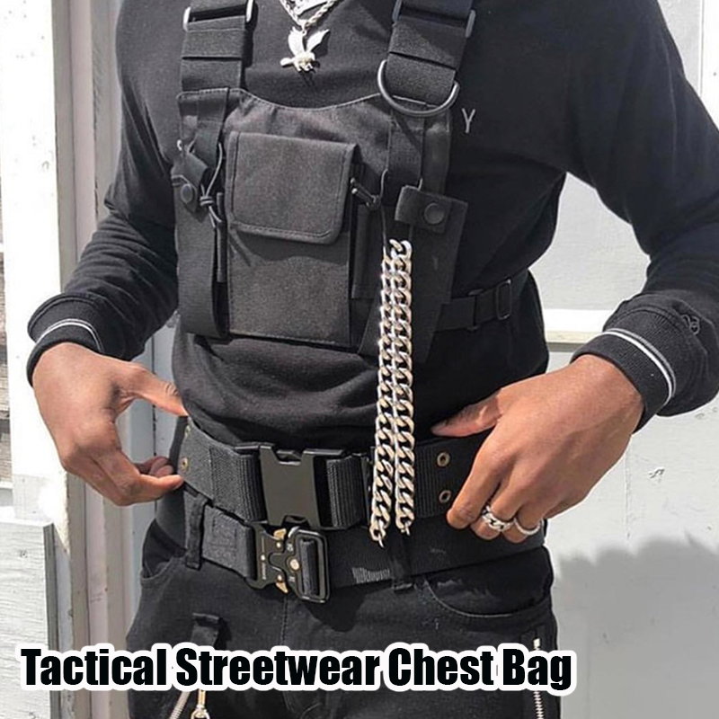 Tactical Streetwear Chest Bag