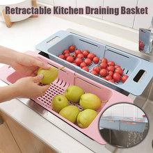 Load image into Gallery viewer, Retractable Kitchen Draining Basket